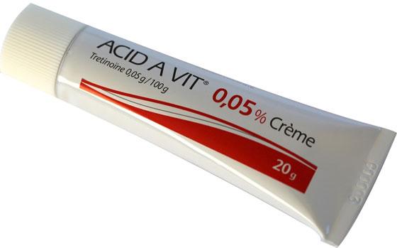 Huidverbetering - Vitamine A crème voor acne en rosacea