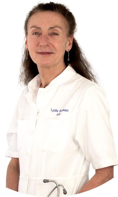 Dokter Lydia Boeken - gepassioneerd en ervaren