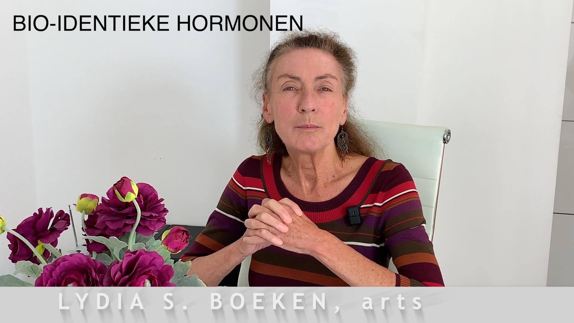 Bioidentieke Hormonen Lydia Boeken, arts